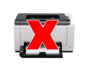 Không sử dụng máy in với UPS Santak TG500