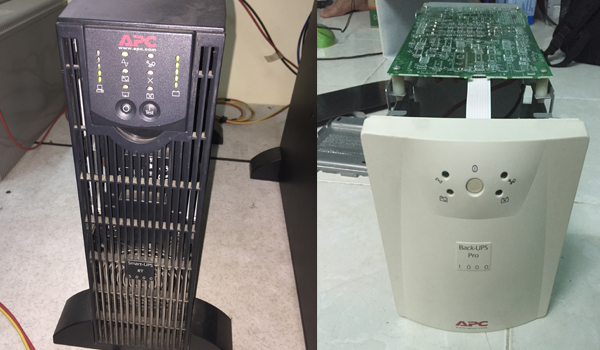 Dịch vụ sửa chữa UPS APC chuyên nghiệp - Sửa bo mạch UPS APC Surt 3KVA và APC SUA100I