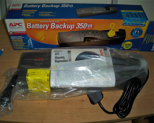 FullBox UPS APC 350VA