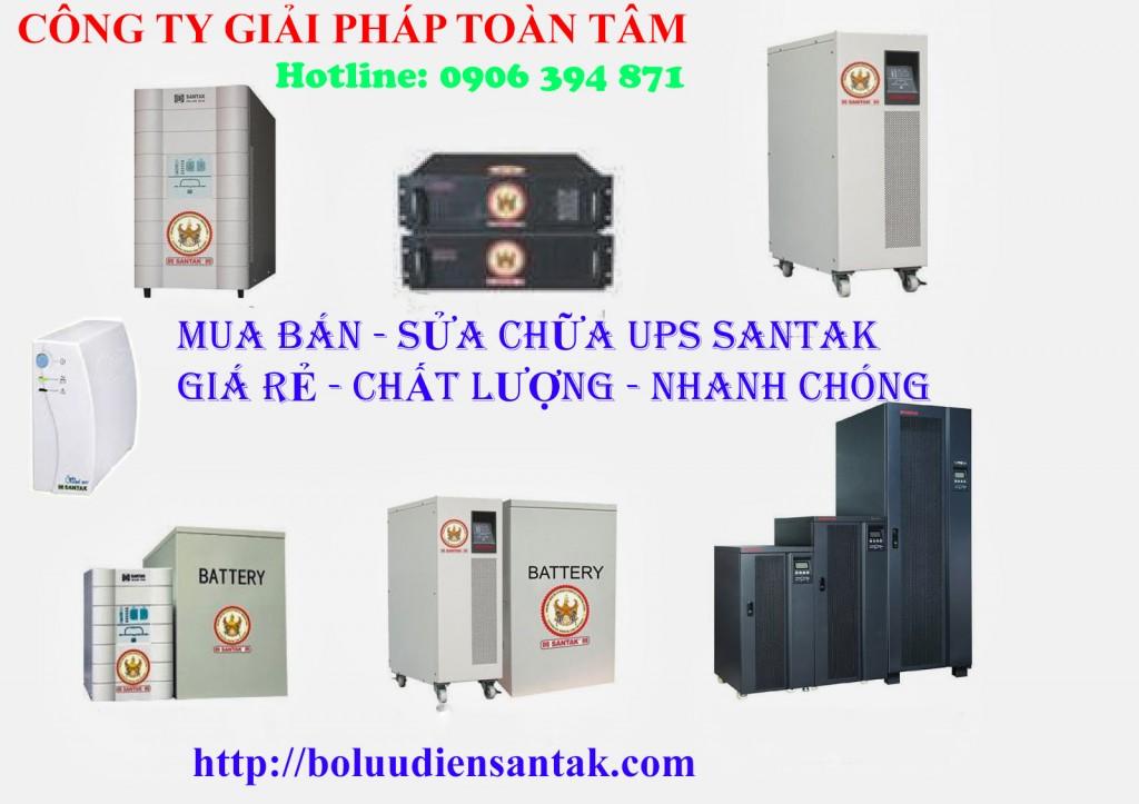 Sửa UPS Santak | Hotline 0906 394 871