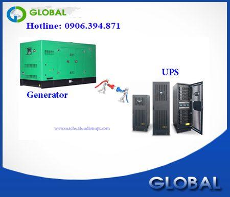Máy phát điện và bộ lưu điện hiệu quả