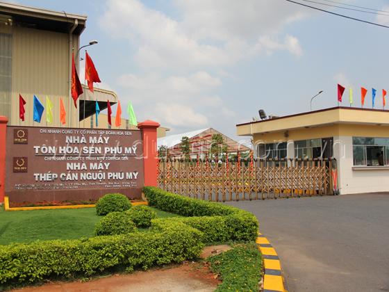 Cung cấp Bộ lưu điện Santak cho Tập Đoàn Hoa Sen - Nhà máy Phú Mỹ